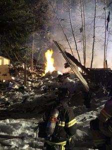 Two injured after house explodes in Breckenridge