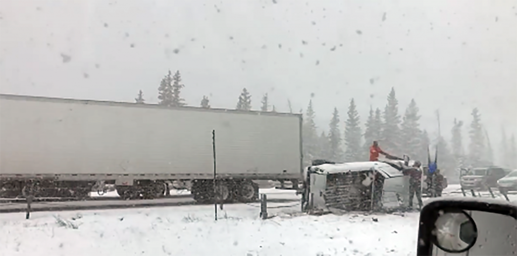 Eastbound Interstate 70 closed following numerous crashes east of Eisenhower Tunnel