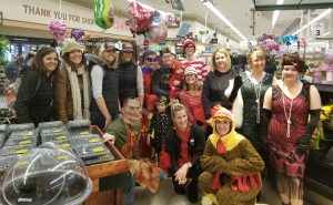 Shop 'til you drop: Annual charity event raises thousands in grocery, cash donations