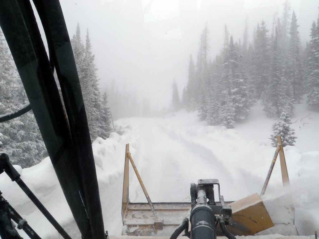 Trail Ridge Road in Rocky Mountain National Park will not open for Memorial Day weekend