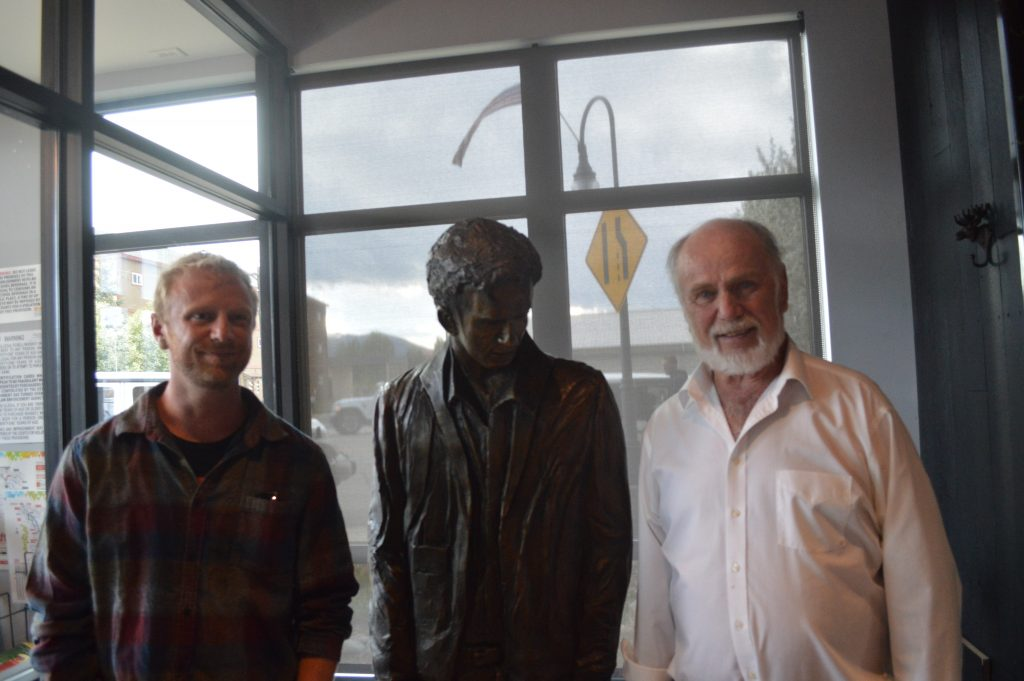 Grand County artist reveals first ever life-size Kerouac statue