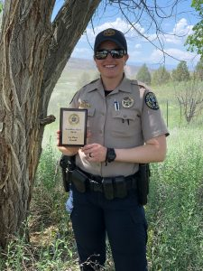 Straight shooter: Kremmling wildlife manager becomes first female to win CPW shooting competition