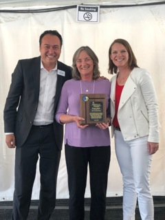 Horizons director recognized for decades of dedication to disabled community