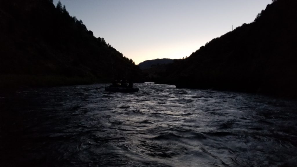 Grand County Search and Rescue team members float the Colorado River during a Saturday mission to rescue a young woman who had fallen in a ravine.