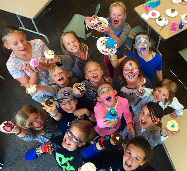 Cupcake Wars at the Fraser Valley Library was a hit with kids during an afterschool program.