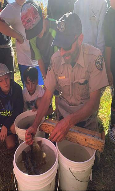 Middle school students had the opportunity to learn from experts in the field during a field trip last week.
