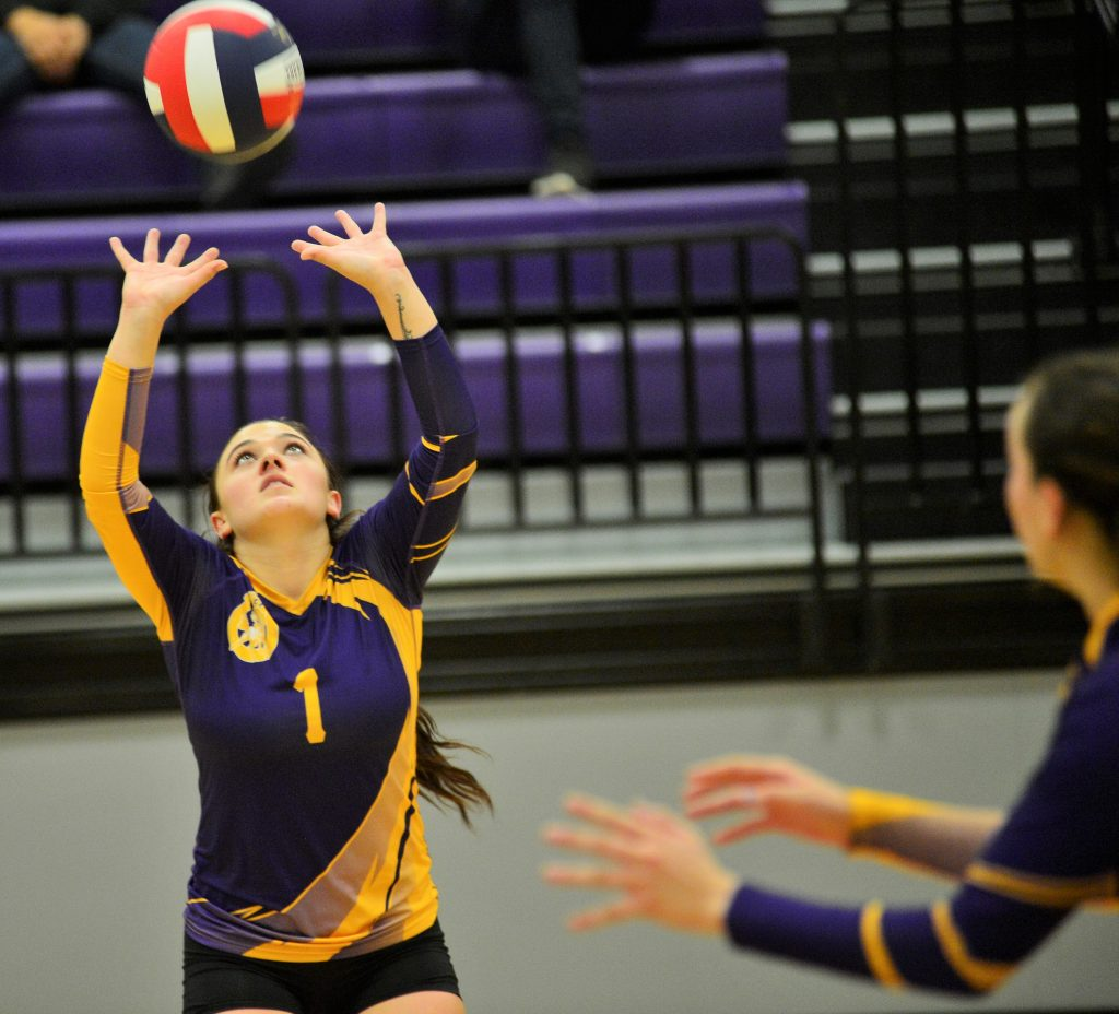 The West Grand volleyball team defeated Vail Mountain 15-25, 25-15, 24-26, 25-15, 15-8 on Oct. 10 in Kremmling.