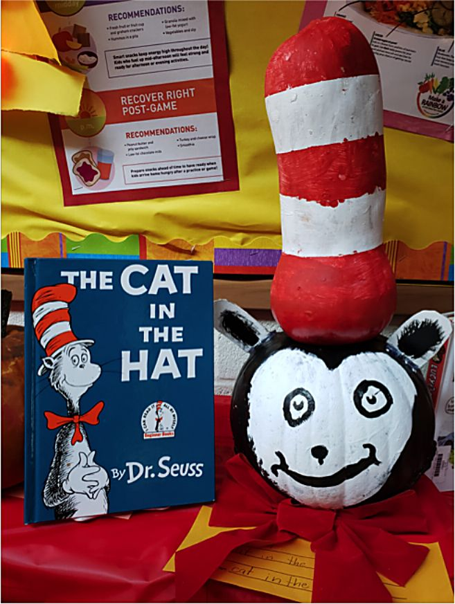 Cat in the Hat made by fourth-grader Alivia Martin.