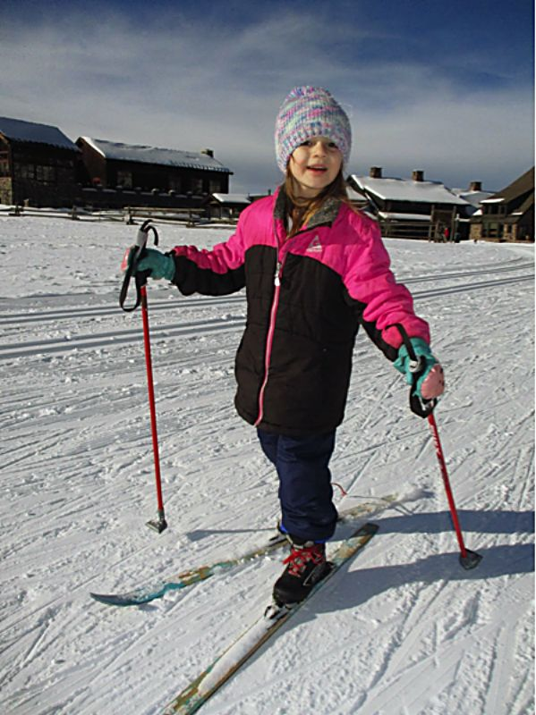 Students at Granby Elementary School go skiing with the National Sports Center for the Disabled.