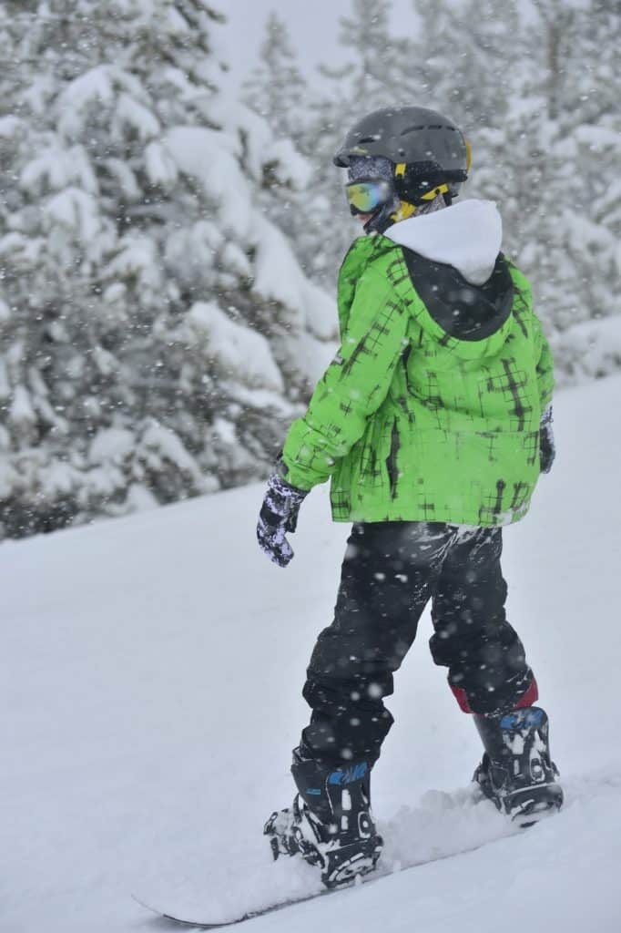 Skiers and riders enjoy fresh powder at Granby Ranch on Friday, Feb. 7.