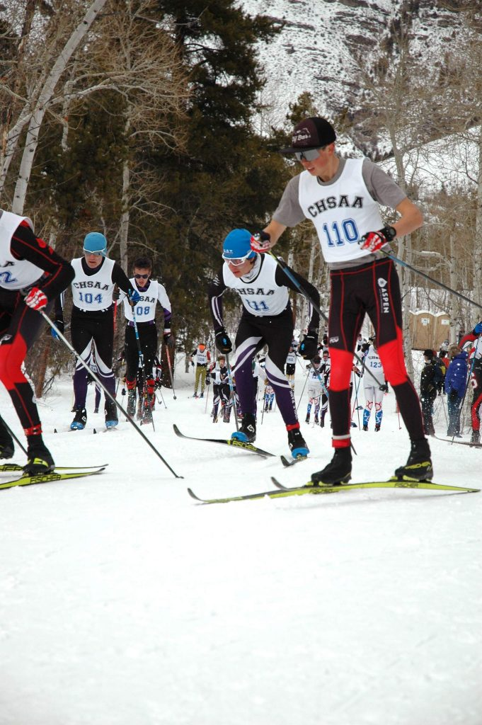 Middle Park Nordic skiers Sebastian Brower and Alex Holinka both turned in strong performaces at the Colorado High School Ski Association State Championships in Minturn.