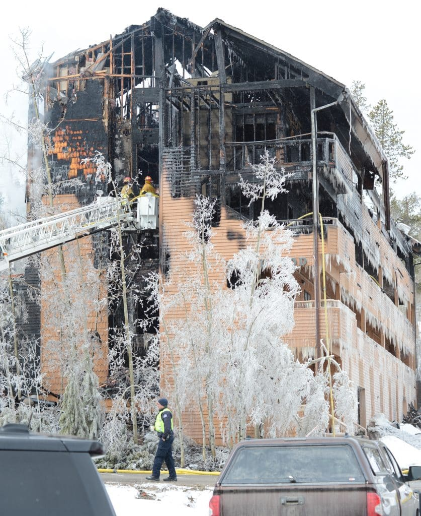 A fire ripped through the Braidwood Condominiums in Winter Park early Monday morning. The cause is still under investigation.