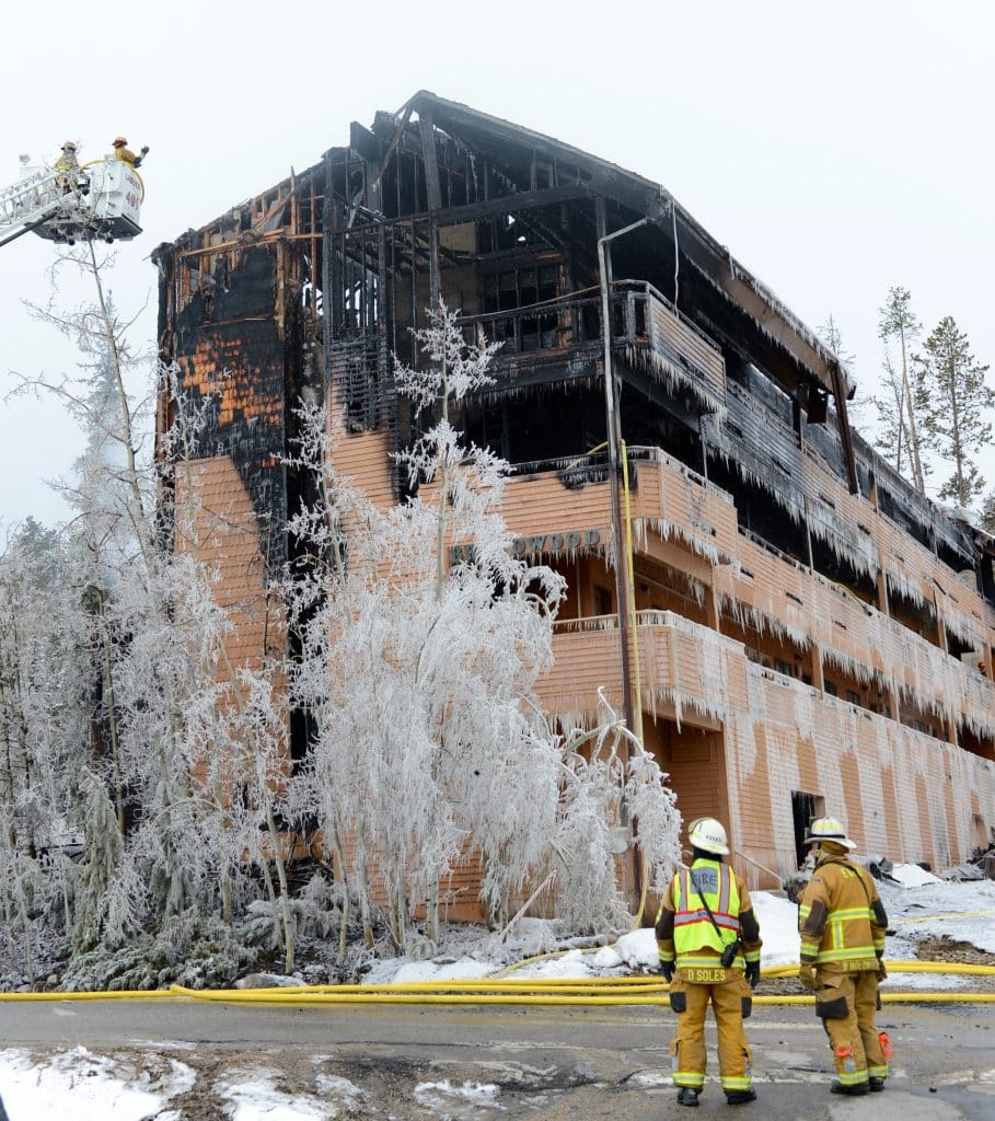 A fire ripped through the Braidwood Condominiums in Winter Park on April 13. The cause is still under investigation.