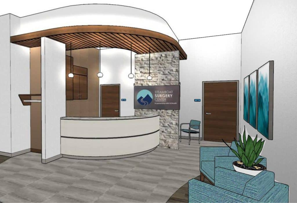 The new SOSI building, expected to open June 29, delivers a state-of-the-art facility to the Yampa Valley where SOSI patients have access to office appointments, imaging services and surgery all in one location.