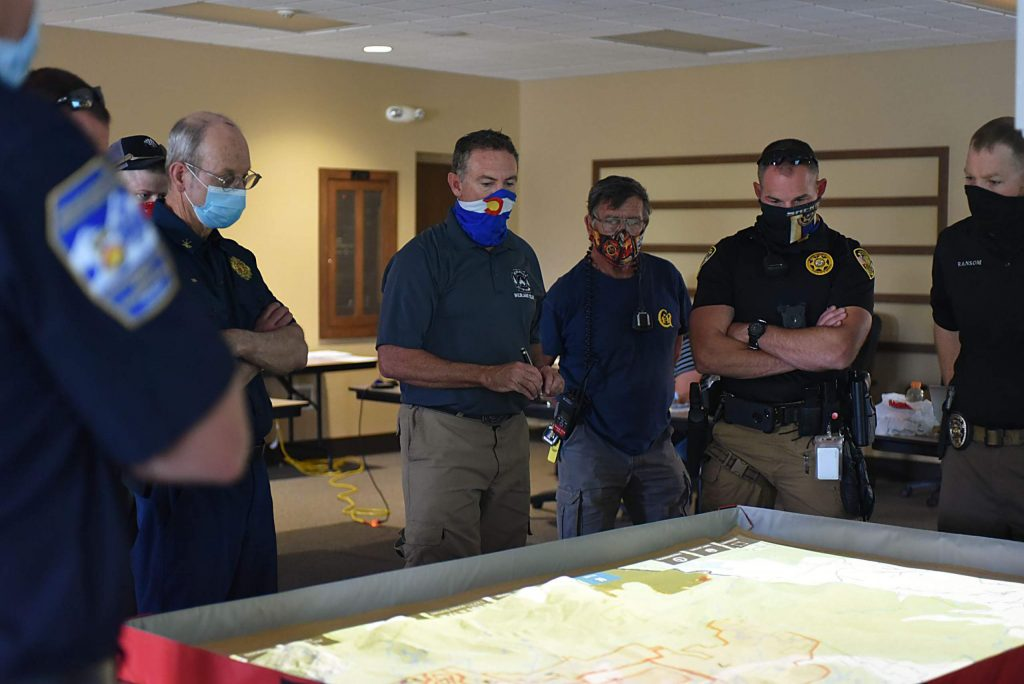 The Headwaters Incident Management Team modeled several situations to measure their evacuation plans against and felt confident in the plans.
