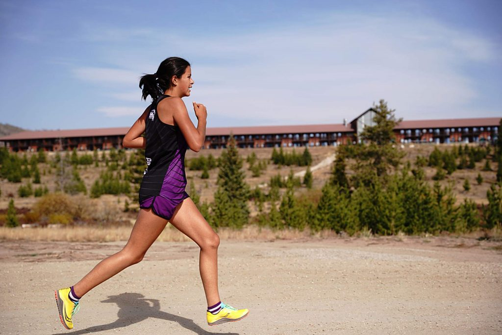Middle Park freshman Sierra Manyak was among the Panthers top three runners Saturday as she finished seventh overall at 23:15.