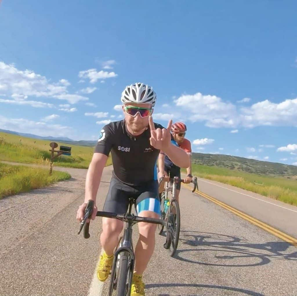 Dr. Meininger, a competitive cyclist himself, enjoys treating Steamboat's athletic residents and visitors.