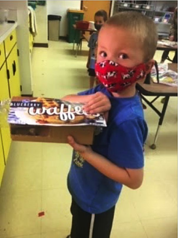 In Granby Elementary Kinder Science, children used the Engineering Design Process to build a SHADE using household materials. After that, they tested each shade, and they were all successful.