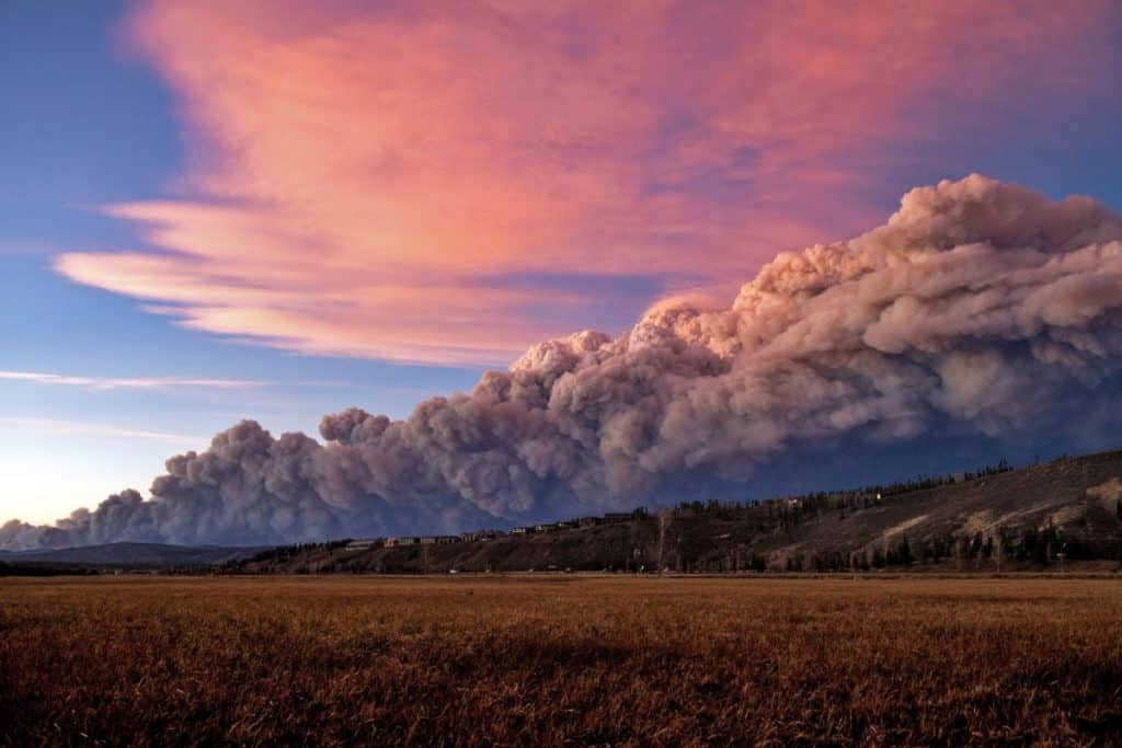 As the East Troublesome fire grows in size many manditory evacuation orders have been issued as residents scatter from the massive, active fire.