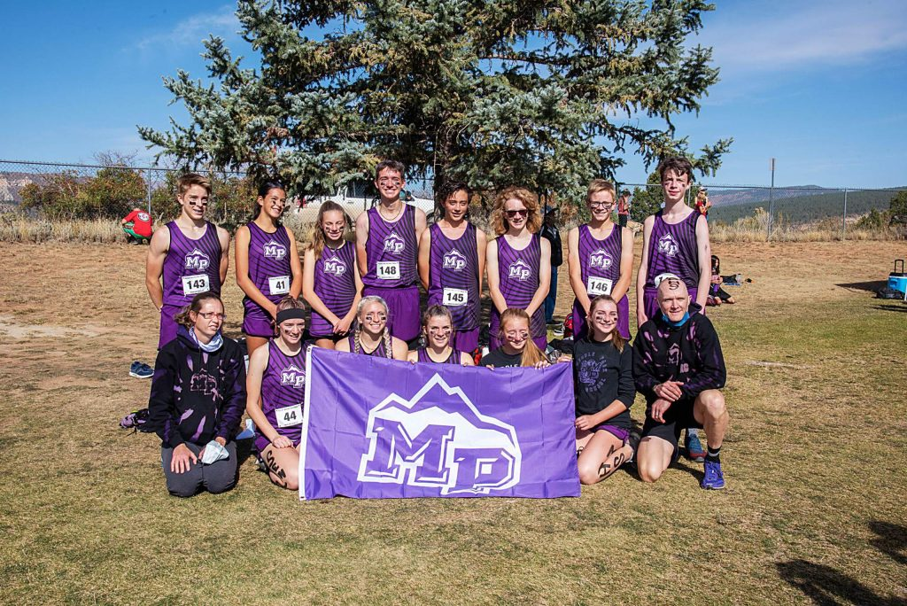 Middle Park cross country competed at the regional meet Saturday in Durango.