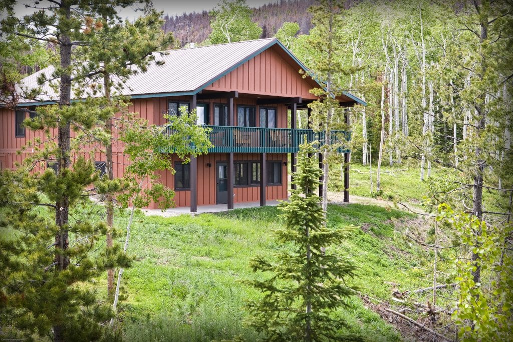 Cabins vary in size, from two-bedroom cabins that sleep up to five, to five-bedroom cabins that sleep up to 12. (Photo courtesy of Snow Mountain Ranch)